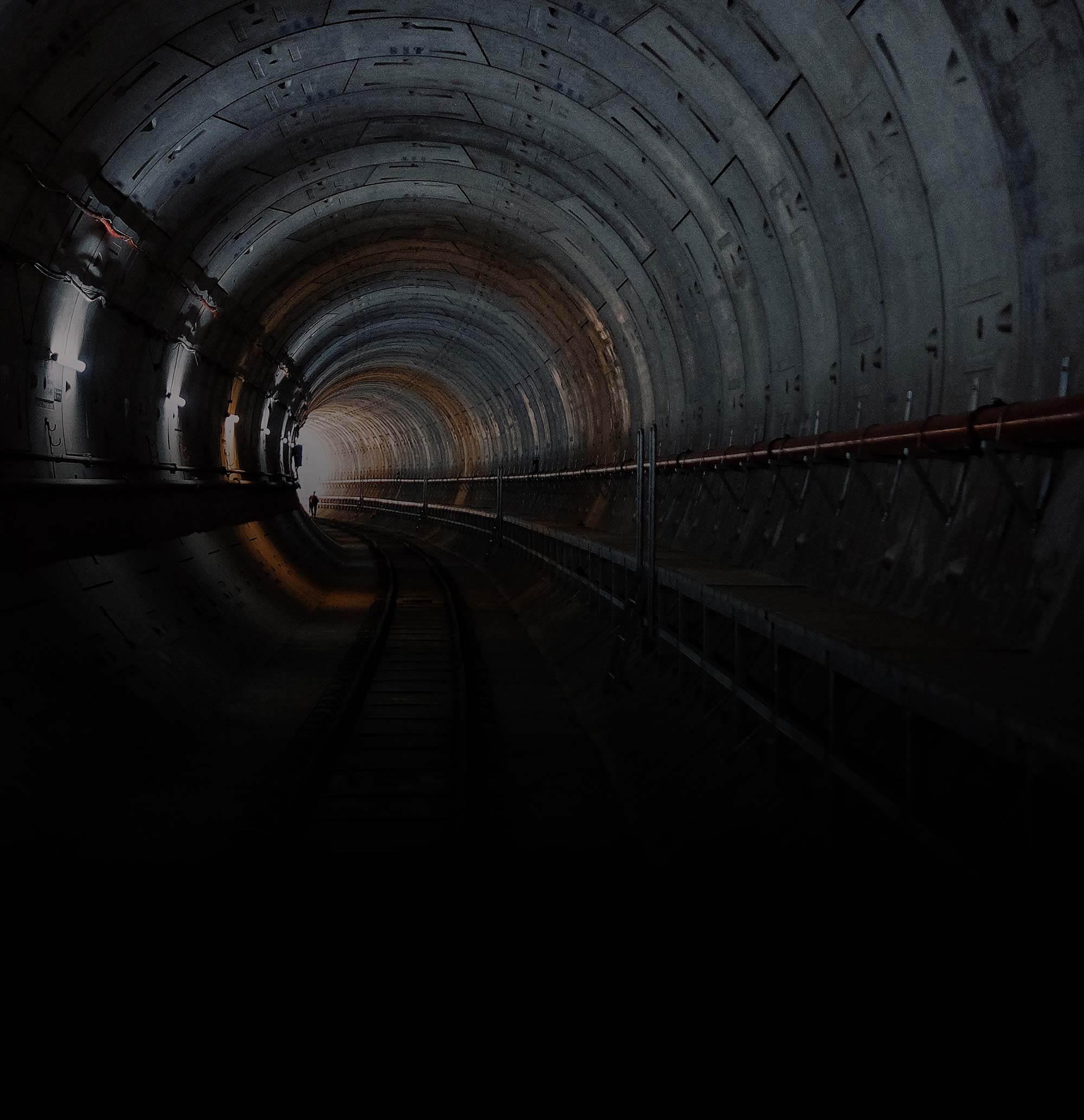 Dark Tunnel Background